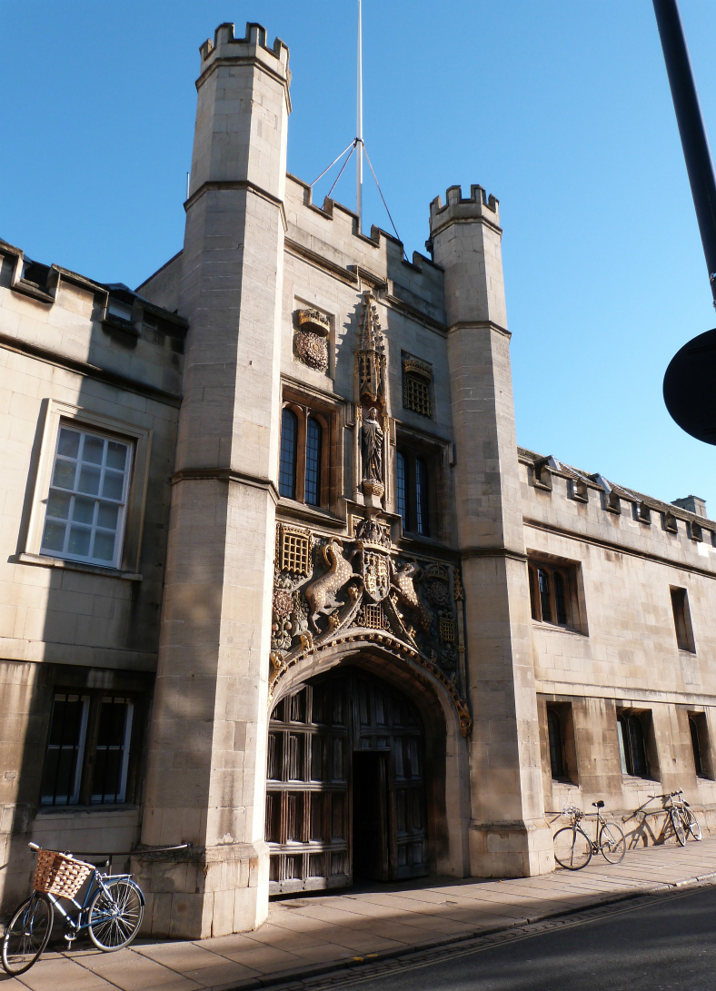 Gate Tower, Christ's College, Cambridge