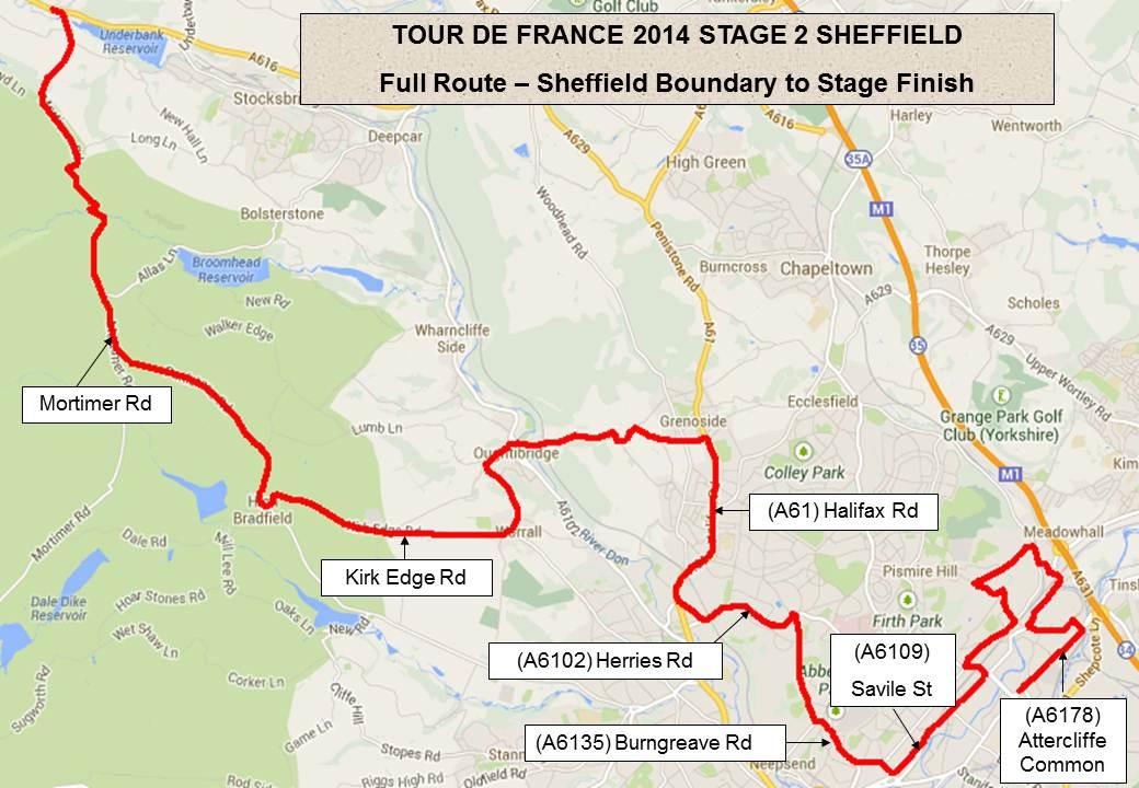 Tour De France In Sheffield
